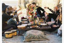 Wedding & Boho Chic / Hippie styled wedding