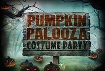 Pumpkin Palooza Costume Ball - Mystery Party Game / A fun non-murder mystery party game for 8-12 guests, ages 13+ for difficulty.  Great for families, church groups, schools, libraries, and corporate functions!  http://www.mymysteryparty.com/pupacobanind.html