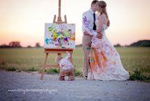 Wedding & Trash-the-dress / After wedding fotoshoot to trash-the-dress