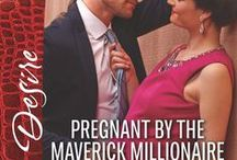 Mavericks 2-Pregnant by the Maverick Millionaire / From Maverick to Married. Book 2 Kade and Brodie August 2016