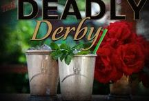 Deadly Derby Murder Mystery Party hosting tips / The Deadly Derby murder mystery party game by www.mymysteryparty.com is for 7-15 guests, ages 13+ due to difficulty. Have fun at Gotham Downs Gala the night before the big race!