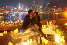 Romantic Marriage Proposals / Our Romantic Proposal, performed in Hong Kong. A 1000 times Yes Proposal Planner