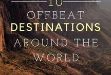 Travel off the beaten path / No tourist filled cities here. Experience these places before everyone else does.