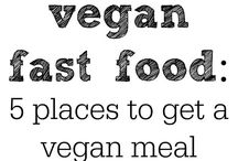 Eating vegan while traveling / Where to find vegan friendly restaurants around the world and tips for being vegan on the road.