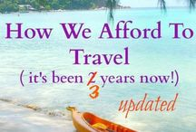 Show me the money / See how other people saved money for travel, and cost breakdowns of trips. Show us the money!
