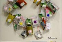 winter crafts,  manualidades de invierno, diy