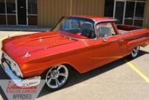 59-60 Chevrolet El Camino's