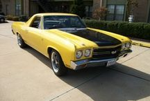 68-72 Chevrolet El Camino's