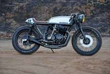 \\\ CAFE RACER /// / by CauseYouNeed