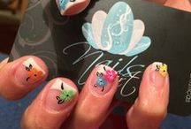 Nail Designs / by Tina Leigh-manuell