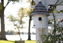 Bird houses & feeder
