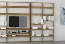 #Bibliotecas / Bibliotecasde diseño  en madera maciza