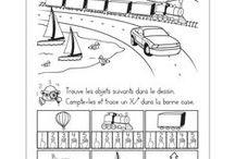 preschool - worksheets