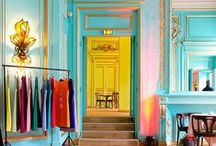 Color Inspiration - Brights / A collection of Revitaliste's bright color inspiration