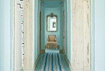 Color Inspiration - Blues / A collection of Revitaliste's favorite blue color inspiration