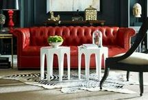 Color Inspiration - Reds / A collection of Revitaliste's favorite red color inspiration