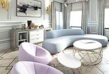 Color Inspiration - Pastels / A collection of Revitaliste's favorite pastel color inspiration