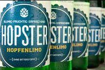 HOPSTER, nicht nur für Hipster! / Wir finden: Geschmack ist reine Hopfsache! Um zu beweisen, dass Hopfen sehr viel mehr kann als immer nur zu Bier verarbeitet zu werden, hat Jonas Seidl seine Hopfenlimo entwickelt.
