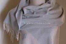 bottheka's weaving / Judit - kézzel szövött sálak, kendők & Botthéka collaboration