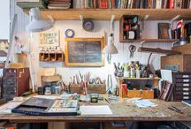 Work & studio spaces