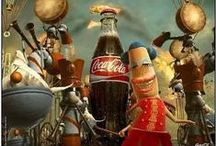 Coca-Cola … along the highway to anywhere / Not as arrogant as wine Not as subtle as tea it's suitable when you dine it is a can of liquid glee  The casual drink for a care-free mind – Mostafa Zaki