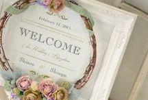 ウェルカムボード/マノン・ジュベル [ wedding sign / welcome sign ] / アンティーク風ウェルカムボード [ wedding sign / welcome sign ]