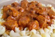pokrmy z masa / vaření