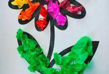 Spring ideas / Ιδέες για δημιουργίες στο σχολείο με θέμα την Άνοιξη