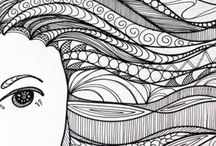 Coloring pages - DETAILED / Thank you to all of the talented artists that create these beautiful & ornate designs! / by Cyndee T