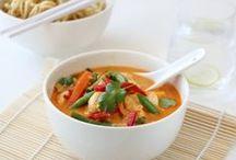 Asiatisk , Sør-Amerikansk og Afrikansk mat