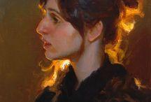 Art: Oil painting