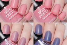 Thermal Color Changing Nails / Funny color changing polish or gel nails, have a nice try in bornprettystore.com.