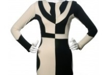 No Color For Me Please! / Motel-Jester Dress in Color Block (sz XS) - Get Inspired