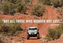 Jeeps and ATVs / by kay howell
