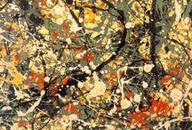 Jackson Pollock / Artistes que m'enamoren / by Andreu Ledoux