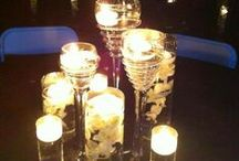 Candlelit Centerpeices / From lanterns, to mercury, to floating candles and more