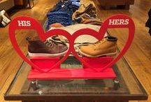 Valentine's Day 2015 | International retail / Visual roundup of international retailers' take on Valentine's Day 2015 in-store including the UK (Birmingham and London), Australia (Sydney), UAE (Dubai) and Czech Republic (Prague)