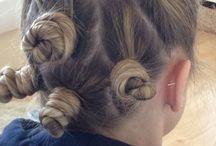 My Work (hair) / Hair designs by me