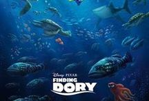 Disney Pixar Finding Dory / A collection of merch from the Finding Dory animation film.