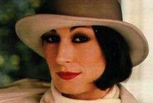 Anjelica Huston / A very special actress.