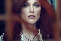 Julianne Moore / Red-haired talent.
