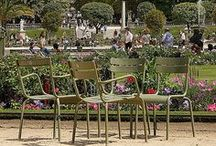 Paris Parks and Gardens / Views of the greener side of Paris. Enjoy the beauty!