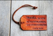 Travel Quotes / Some quotes about traveling that either inspire us!