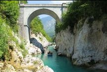 What to do in Bovec / All the activities recommended to try, once you are here :) kayaking, zipping, rafting, aqua park, canyoning, hydrospeed, caving, climbing courses, ...