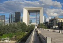 Modern Architecture in Paris - La Defense / Yes, Paris has its modern side too :)