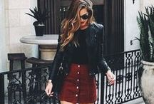 Shorts and skirts outfits / fashion; shorts and skirts outfits ideas, how to put to together outfits with shorts and skirts, inspiration.