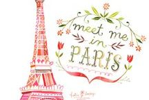 Paris Illustrations / Paris illustrations