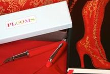 PLOOMS fountain pen: Red  / Inspiration for Mrs Oliver's High Heel Red PLOOM