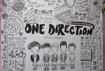 One Direction / by Hannah Harrison
