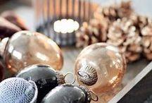 Christmas homes / Gemütliches Zuhause zu Weihnachten und tolle Dekorationen.